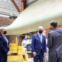 President Biden and Energy Secretary Granholm tour the National Renewable Energy Laboratory.