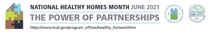 National Healthy Homes Month Banner
