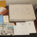 Contents of a time capsule from EPA's Ada lab