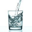 drinking glass full of water