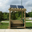Photo of village green project bench
