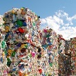 stack of recyclables