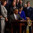 President Obama signing new TSCA