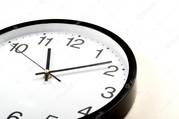 office hours - clock