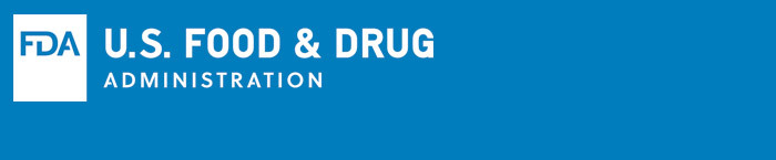 New FDA Logo Blue