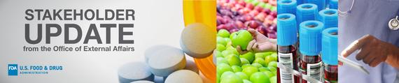 FDA Stakeholder Update Banner