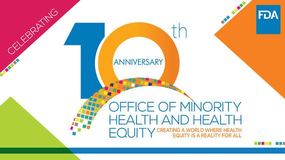 OMHHE 10-year anniversary logo