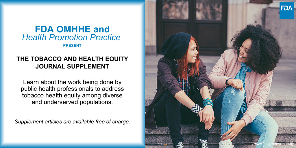 Picture of Health Promotion Practice Journal Supplement flyer