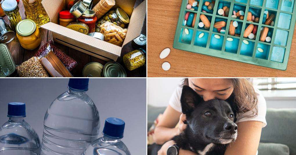 Food Water Pet Medicine Emergency Preparedness