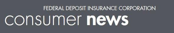 FDIC Consumer News header