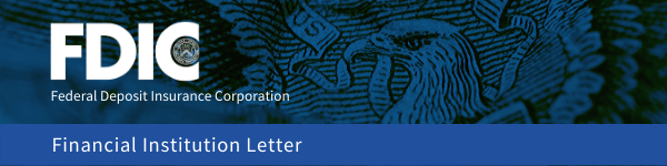 Financial Institution Letter