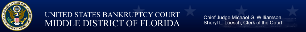 U.S. Bankruptcy Court For The Middle District Of Florida