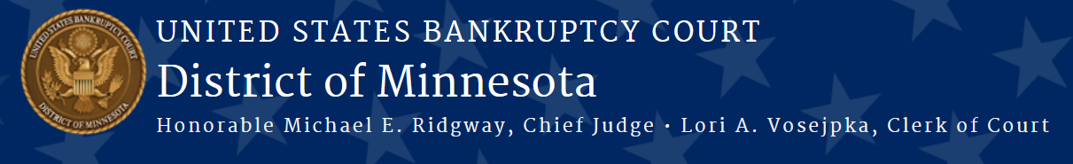 United States Bankruptcy Court, District of Minnesota