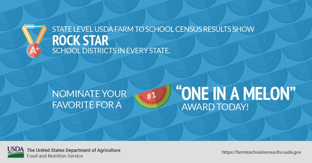 Nominate a district for a one in a melon award