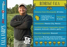 Minneapolis Public Schools Farmer Trading Card