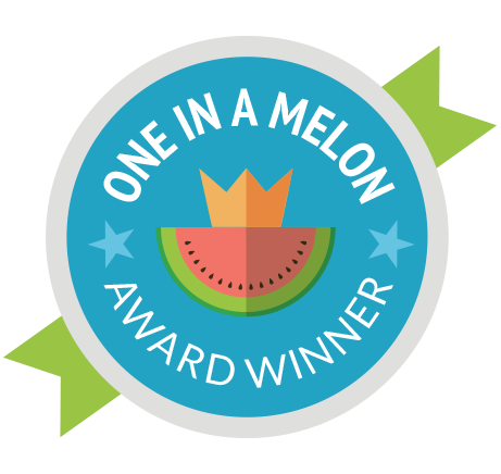 One in a Melon badge
