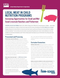 Buying Local Meat Fact Sheet