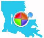 MyPlate, MyState Louisiana Map