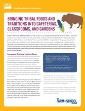 tribal food fact sheet