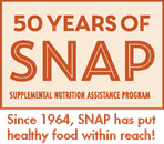 50 years of SNAP, since 1964 SNAP has put healthy food within reach