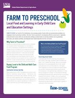 Farm to Preschool Fact Sheet