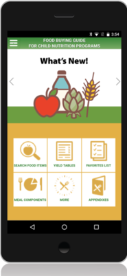 Food Buying Guide mobile app
