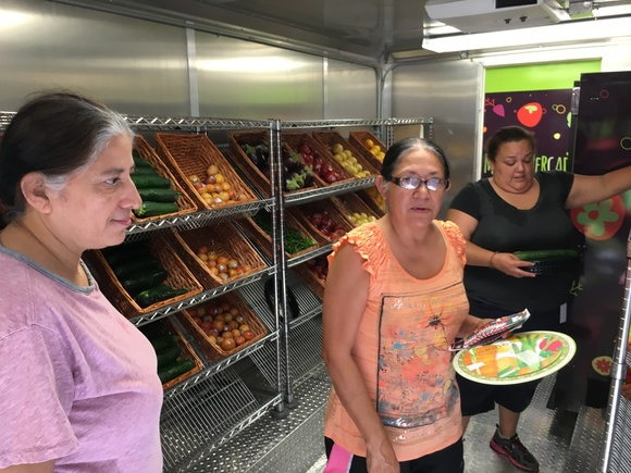 Inside the San Antonio Food Bank Mobile Mercado