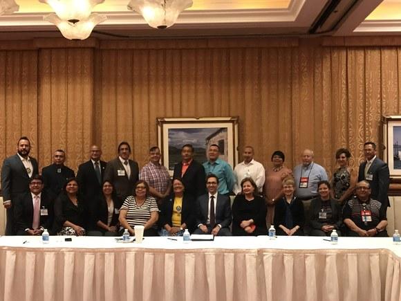 Tribal Leaders Meeting at NAFDPIR Conference