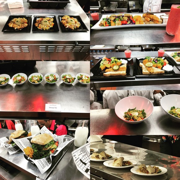Southeast Regional Junior Chef Competition dishes