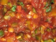 Sweet Heat Salsa, featuring diced peaches