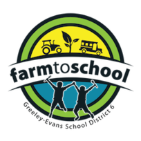 Greely Evans School District Farm to School Logo