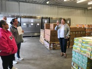 Cooking Matters warehouse nutrition education tour
