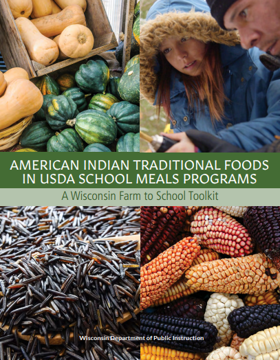 Cover of the American Indian Traditional Foodsin USDA School Meals Program toolkit