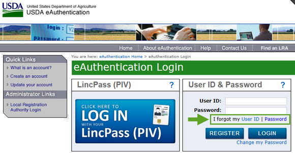 FFAVORS and WBSCM Login