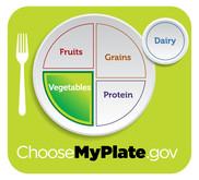 MyPlate logo - Vegetable group