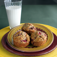 Banana Berry Muffins