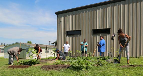SNIFDP community garden