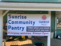 Sunrise Community Pantry banner