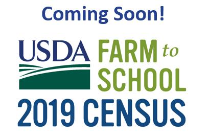 2019 USDA Farm to School Census