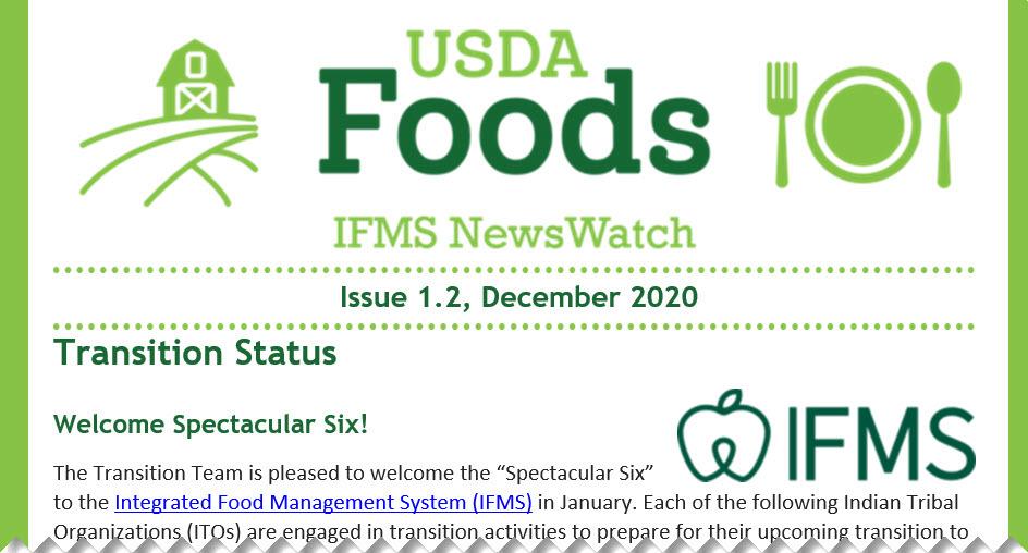 IFMS NewsWatch e-letter