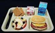Pancake breakfast made from USDA Foods