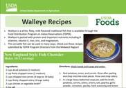 Walleye Recipes