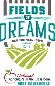 National Agriculture in the Classroom - Field of Dreams Conference logo