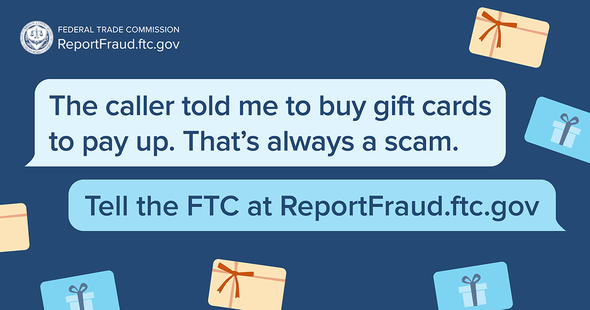 report fraud gift cards