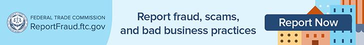 report fraud header