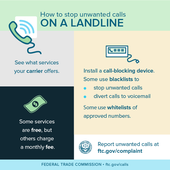 Stop Unwanted Calls on a Landline