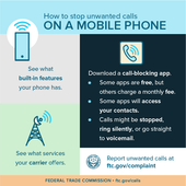 Stop Unwanted Calls on a Mobile Phone