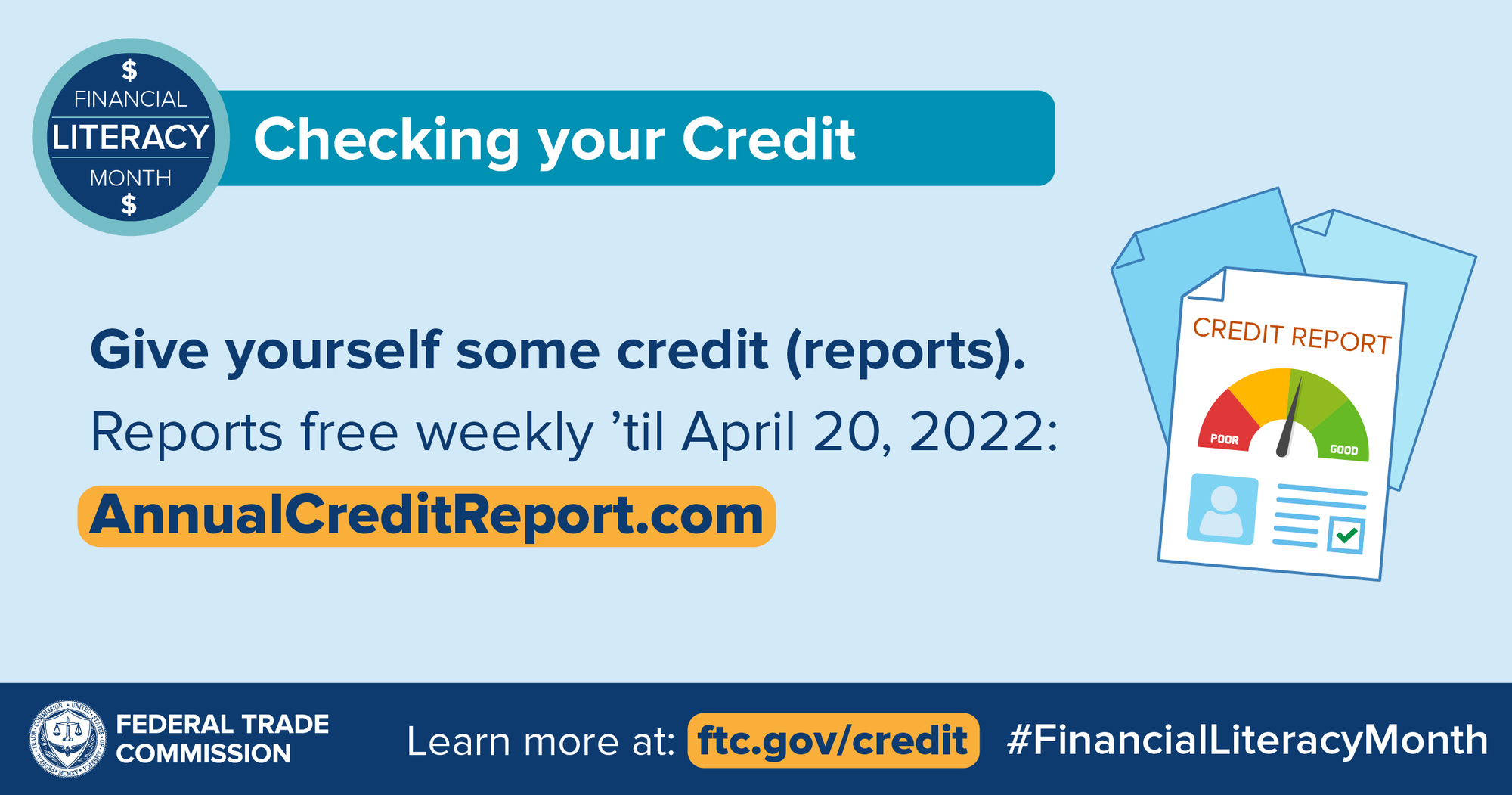 Financial Literacy Month: Checking your Credit