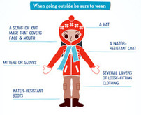 Thumbnail of hypothermia and frostbite infographic.  Full graphic available at https://www.cdc.gov/phpr/documents/hypothermia-frostbite_508.pdf