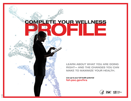 Complete your wellness profile.